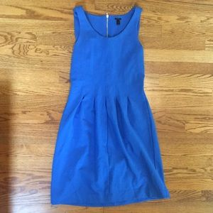 J crew blue dress size 8 career professional